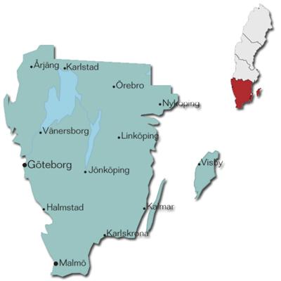 Friluftskartan Pro Götaland