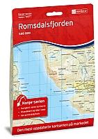 Romsdalsfjorden 1:50 000