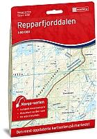 Repparfjorden 1:50 000