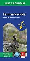 Jakt og Fiskekart 14 - Finnmarksvidda