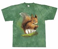 T-Skjorte Ekorn str. barn 6 år  (116)
