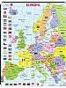 Puslespill - Europa