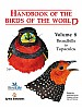 Handbook of the Birds of the World, vol. 8.