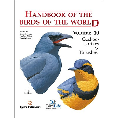 Handbook of the Birds of the World Vol 1-17