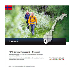 Topo Premium Hardangervidda