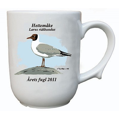 Sett årets fugl krus 2009-2014