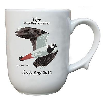 Sett årets fugl krus 2009-2015 uten 2011