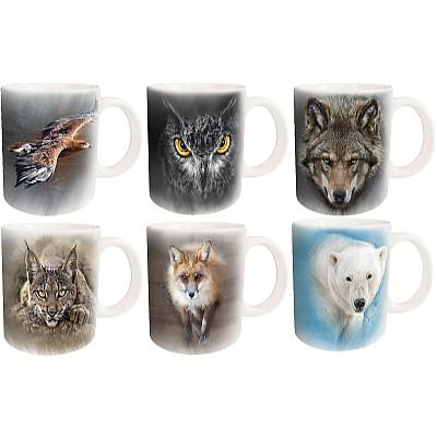 Keramikkrus - Ensom ulv
