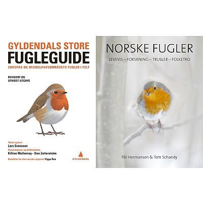 Gyldendals store fugleguide (myk perm)
